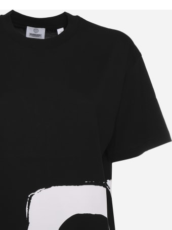 Burberry Cotton T-shirt With Love Print