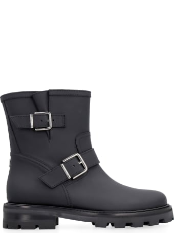 Jimmy Choo Youth Ii Leather Ankle Boots