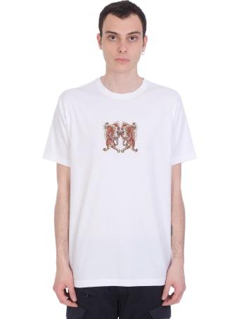 Maharishi T-shirt In White Cotton