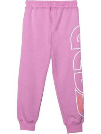 GCDS Mini Lilac Teen Jogging Pants