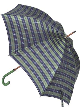 Eddy Monetti Check & Stripe Umbrella