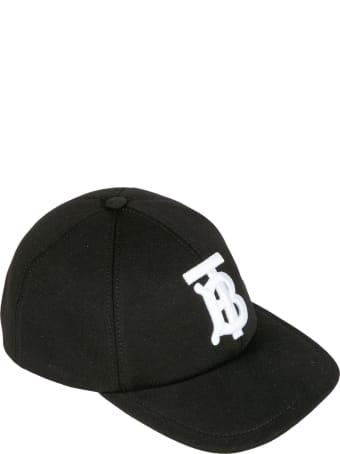 Burberry Logo Embroidered Baseball Cap
