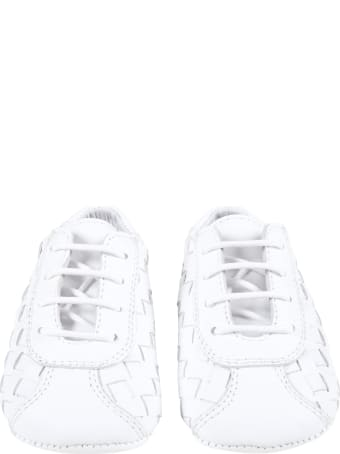 Gallucci White Shoes For Babykids