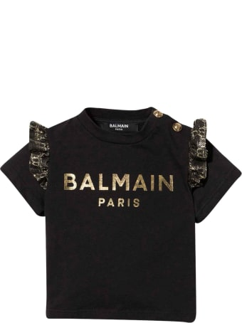 Balmain Unisex Black T-shirt
