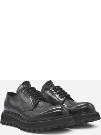 Dolce & Gabbana Derby Shoes Made Of Leather