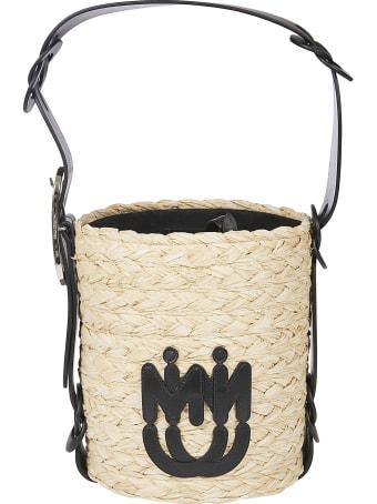 Miu Miu Weaved Bucket Bag