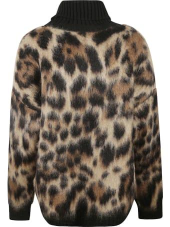 Dolce & Gabbana Leopard Sweater