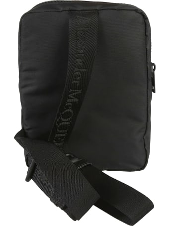 Alexander McQueen Logo Patch Camera Case Shoulder Bag