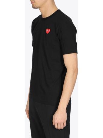 Comme des Garçons Shirt Boy Red Heart Patch T-shirt