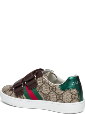 Gucci Gg Fabric Ace Sneakers