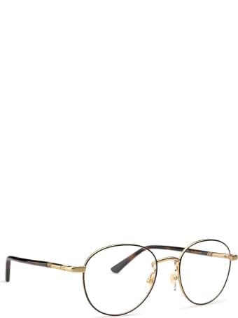 Gucci Gucci Gg0392o Black & Gold Glasses