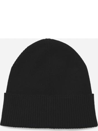 Calvin Klein Cotton Beanie Hat With Contrasting Logo