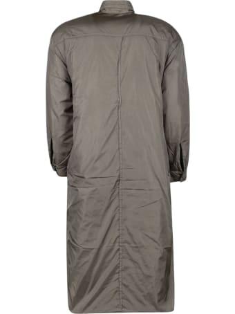 Kimonorain Buttoned Raincoat