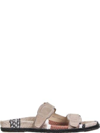 Pedro Garcia Dove Gray Sandals