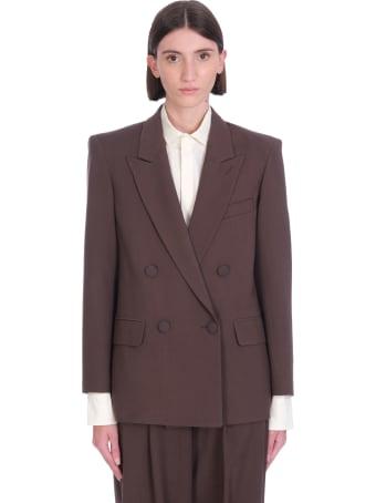WANDERING Blazer In Brown Wool
