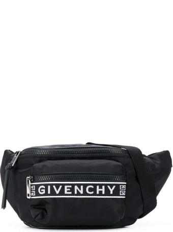 Givenchy Black Logo-panel Belt Bag