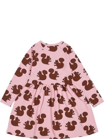 Mini Rodini Squirrel Aop Ls Dress