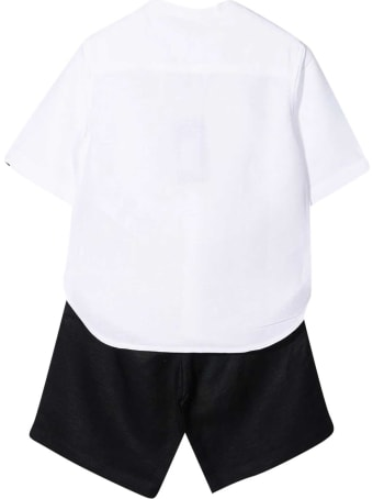 Emporio Armani Shirt And Shorts Set