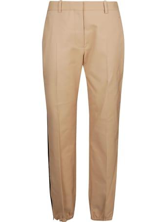 Victoria Beckham Slim Leg Zip Detail Pant