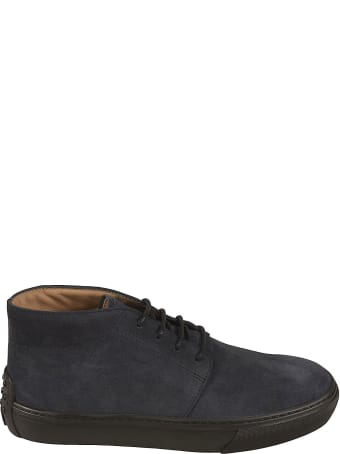 Tod's Polacco Cassetta Lace-up Boots