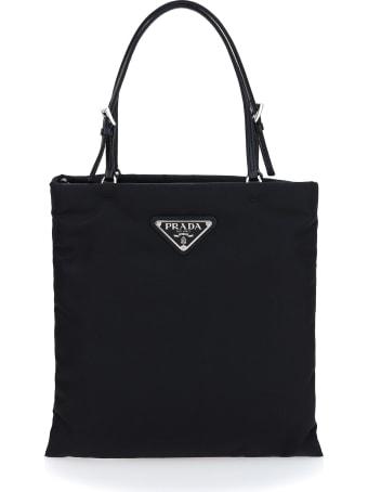 Prada Mini Chain Shopper Bag