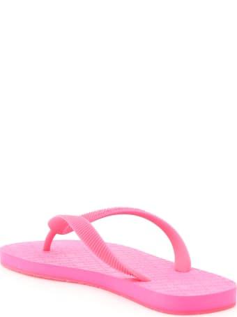 VETEMENTS Rubber Flip Flops Logo