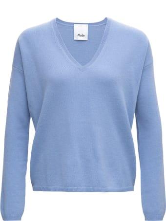 Allude Light Blue Cashmere Sweater