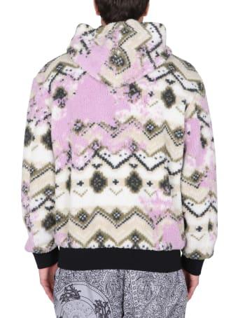 MSGM Fleece Sherpa Jacket