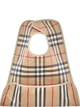 Burberry Icon Stripe Cotton Bib