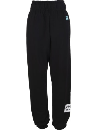 Pharmacy Industry Black Woman Joggers With Logos
