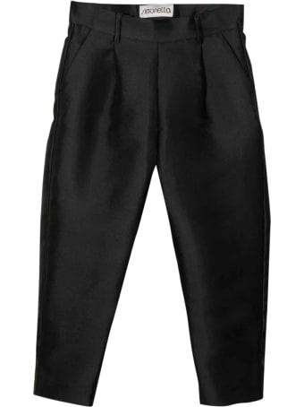 Simonetta Kids Black Trousers