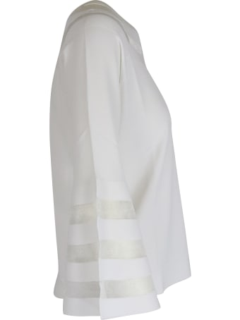 Gran Sasso Sailor Neck Top-wear