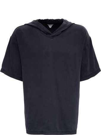 Bottega Veneta Stone Washed Silk Hooded T-shirt