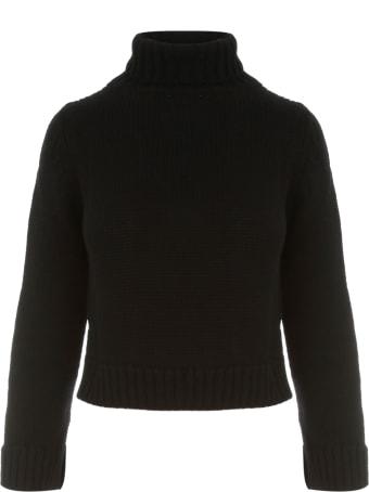 Base Solid Colour Short Turtle Neck Sweater