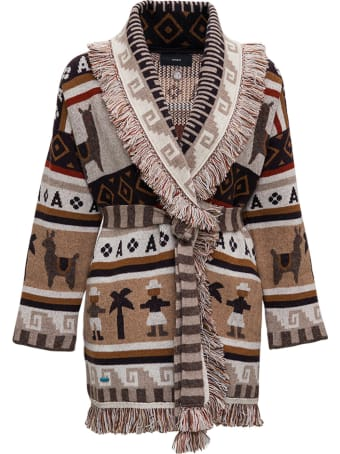 Alanui Ushuaia Cashmere And Wool Cardigan