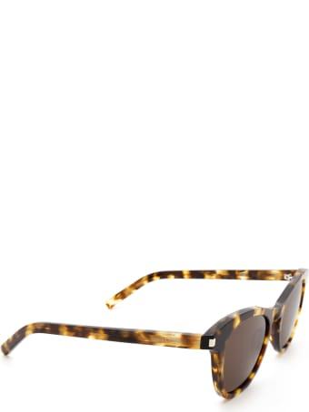 Saint Laurent Saint Laurent Sl 356 Havana Sunglasses