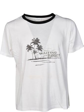 Saint Laurent Waiting For Sunset T-shirt
