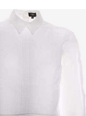 Fendi Shirt Made Of Silk Organza