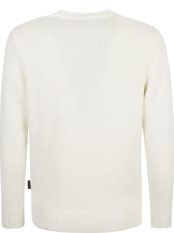MC2 Saint Barth Snoopy Embroidered Knit Sweater