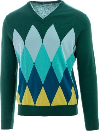 Ballantyne Cotton And Cashmere Sweater Ballantyne