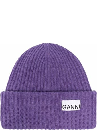Ganni Rib Knit Hat
