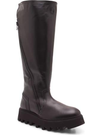 Bruno Bordese 'finger' Calf Leather Boots