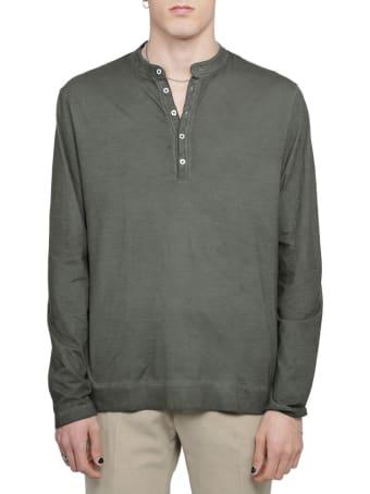 Massimo Alba Green Hawaii T-shirt