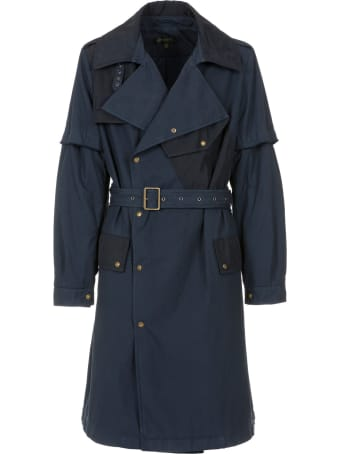 Mr & Mrs Italy Nick Wooster Capsule Unisex Trench In Cotton