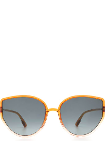 Dior Dior Sostellaire4 Orange Gradient Pink Sunglasses