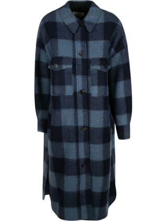 Isabel Marant Étoile Check Long Coat