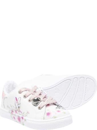 Monnalisa White Sneakers