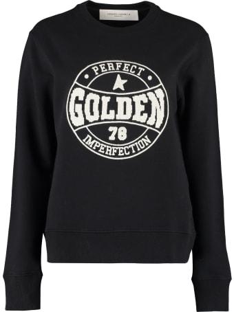 Golden Goose Logo Detail Cotton Sweatshirt