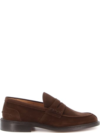 Tricker's James Penny Loafer Suede