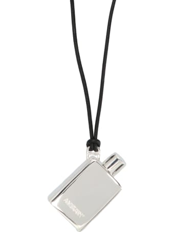 AMBUSH 'perfume Pendant  Silver' Ncklace